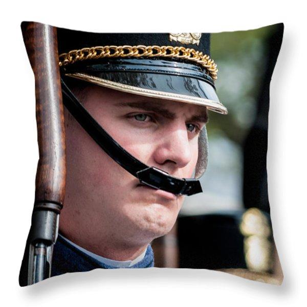 Citadel Cadet Throw Pillow by Kathleen K Parker