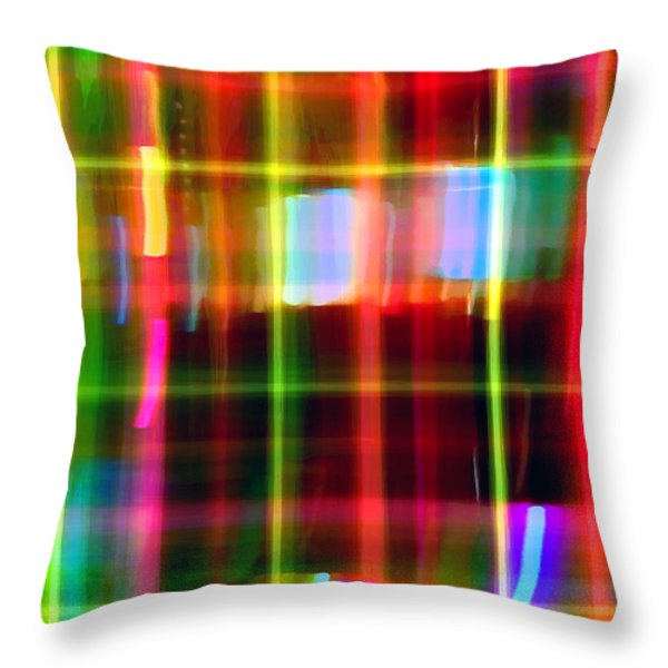City Throw Pillow by James Elmore