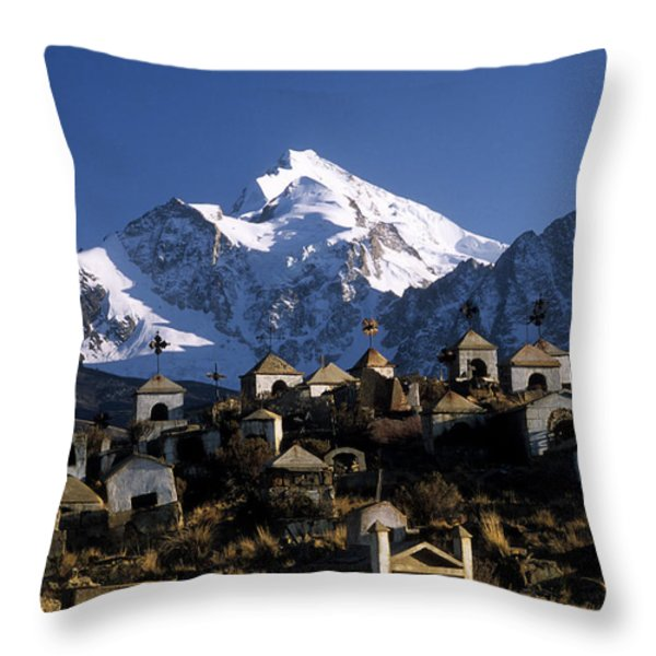 City Of The Dead Throw Pillow by James Brunker