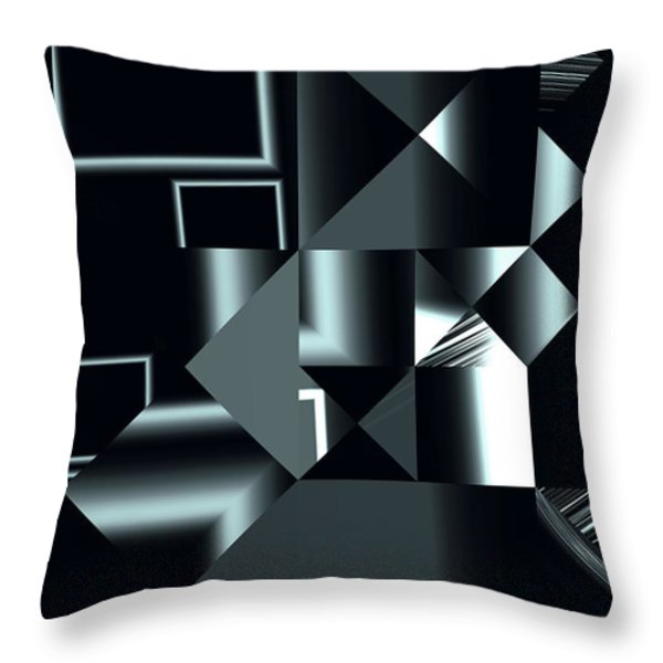 City Smart Throw Pillow by Judi Suni Hall