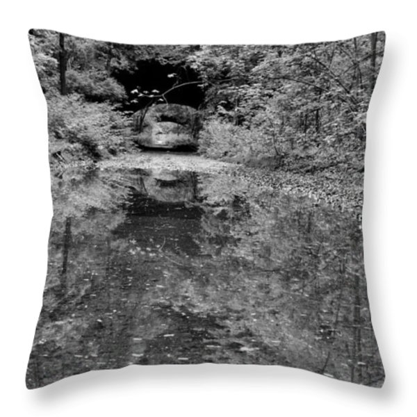 City Streets Throw Pillow by JC Findley