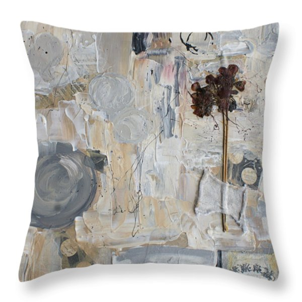 Clafoutis D Emotions Throw Pillow by Aimelle