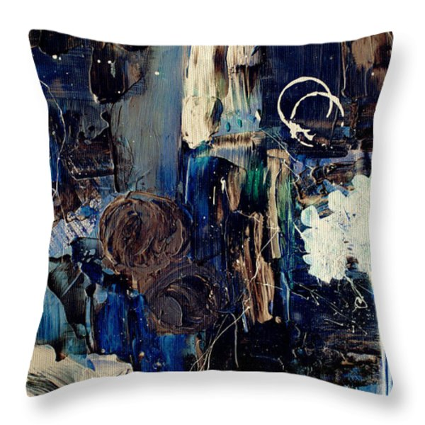 Clafoutis d Emotions - p03k07t Throw Pillow by Variance Collections