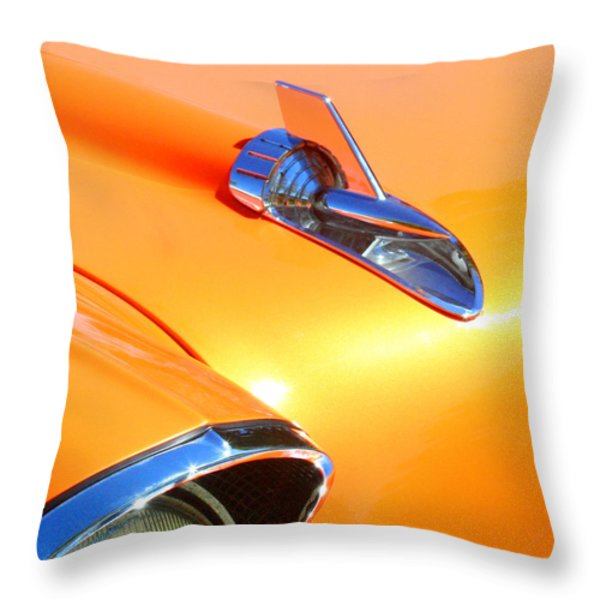 Classic Car 1 Throw Pillow by Art Block Collections