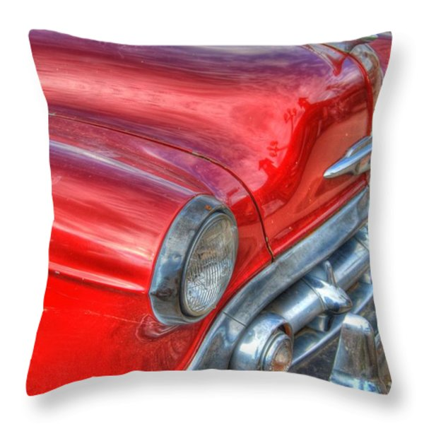 Classic Chevy Throw Pillow by Tam Ryan
