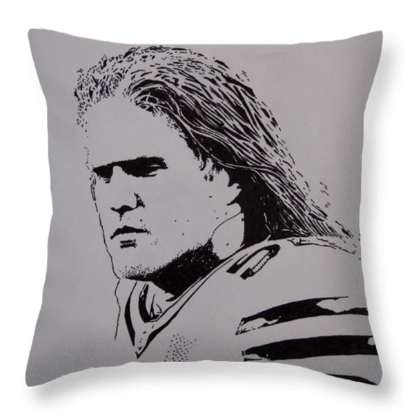 Clay Throw Pillow by Lynet McDonald