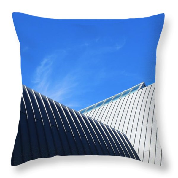Clean Lines - Architectural Photography By Sharon Cummings  Throw Pillow by Sharon Cummings