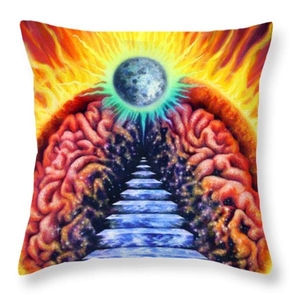 Closer Throw Pillow by Kd Neeley
