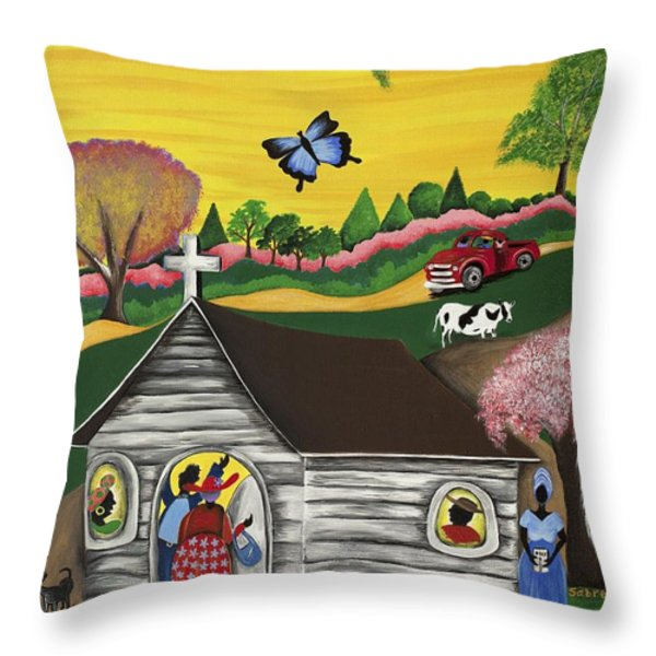 Closer To The Stars 2 Throw Pillow by Patricia Sabree