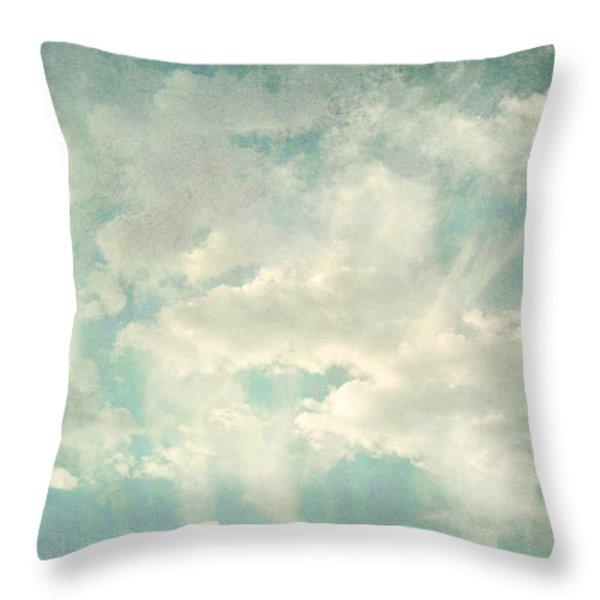 Cloud Series 1 of 6 Throw Pillow by Brett Pfister