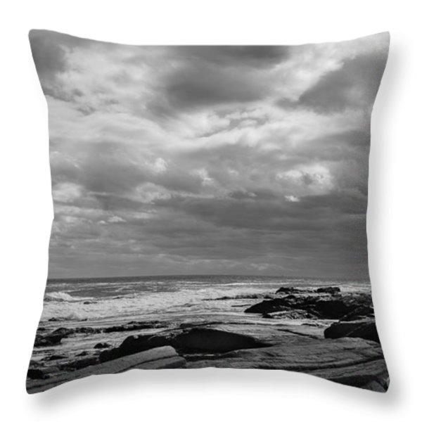 Clouds Rolling In Throw Pillow by Diane Diederich