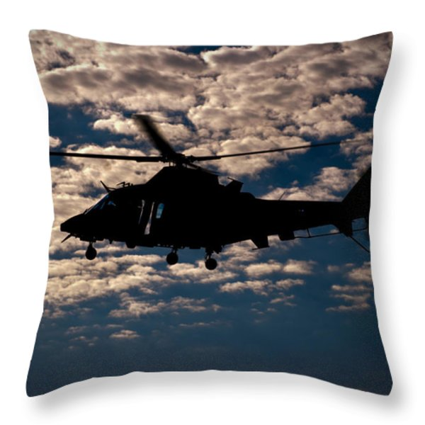 Cloudy Day Throw Pillow by Paul Job