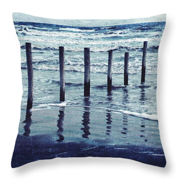 Coast Throw Pillow by Svetlana Novikova