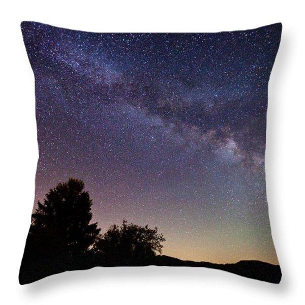 Coastal Skies Throw Pillow by Darren  White