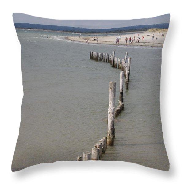 Coastal Vision Throw Pillow by Hugh Reynolds