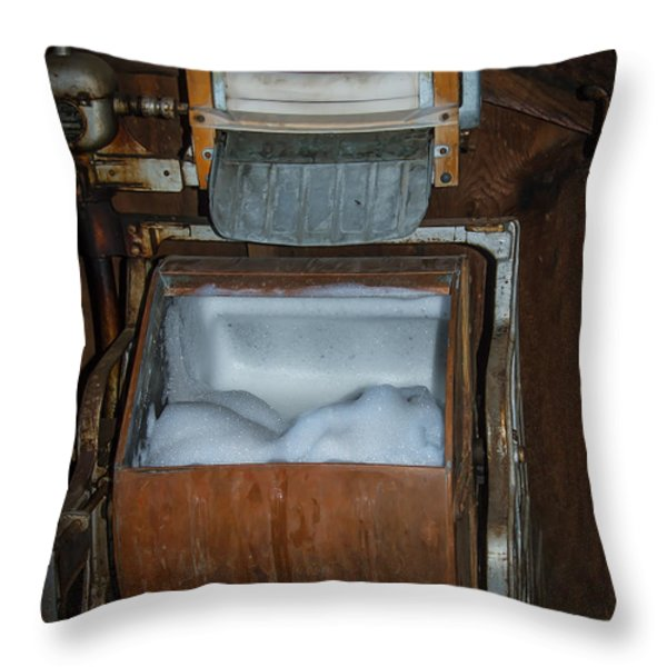 Coffield Washer Throw Pillow by Robert Bales
