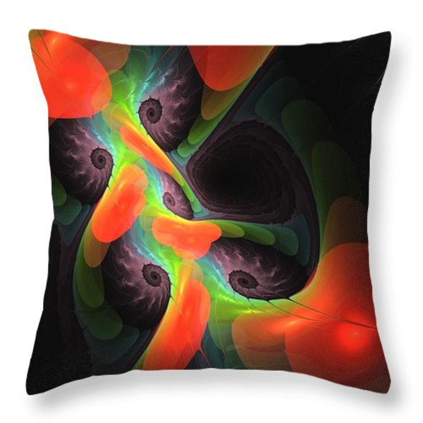 Cognitive Malfunction Throw Pillow by Anastasiya Malakhova