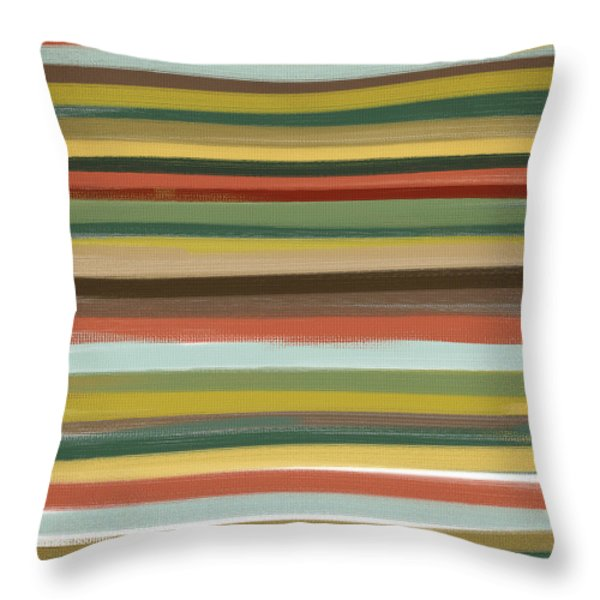 Color Of Life Throw Pillow by Lourry Legarde