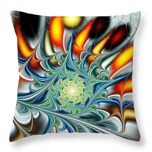 Colors of the Spirit Throw Pillow by Anastasiya Malakhova