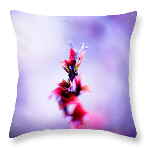 Comatose Throw Pillow by Shane Holsclaw