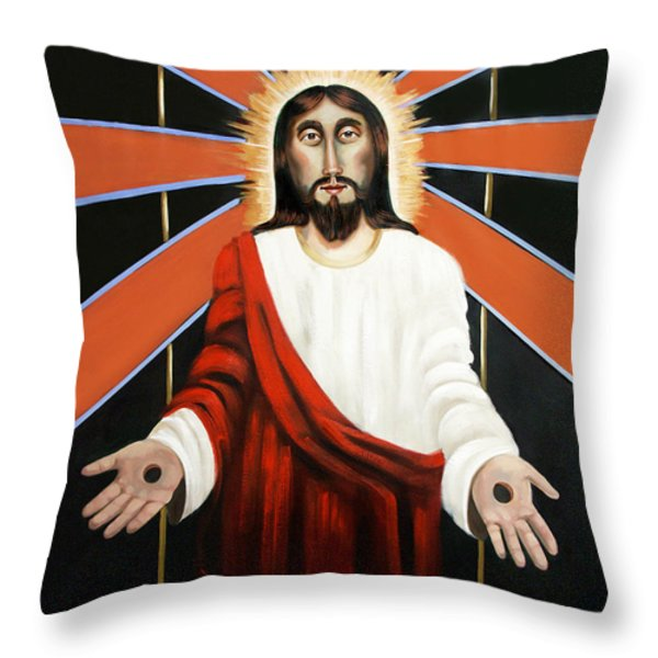 Come Throw Pillow by Anthony Falbo
