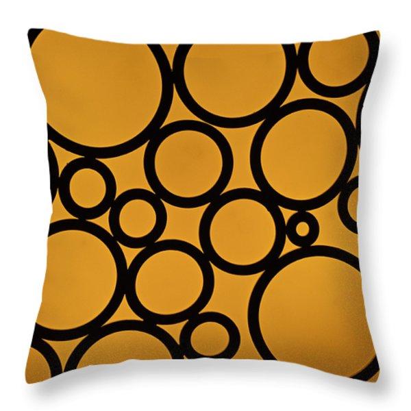 Come Full Circle Throw Pillow by Christi Kraft