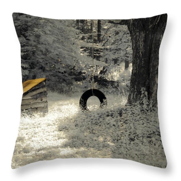 Come Out and Play Throw Pillow by Luke Moore