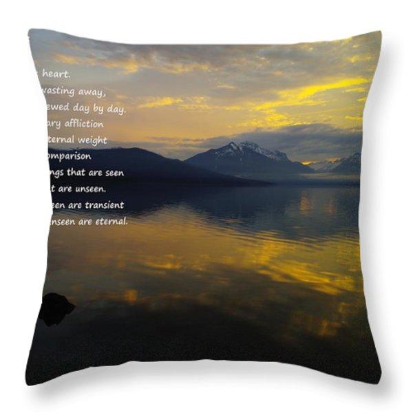 Comfort Throw Pillow by Jeff Swan