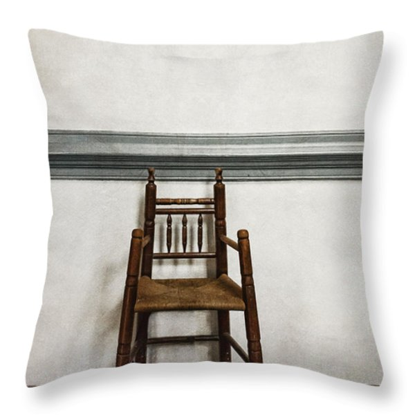 Comforts of Home Throw Pillow by Margie Hurwich