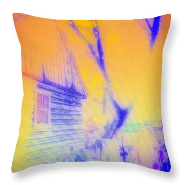 Coming Home Throw Pillow by Hilde Widerberg