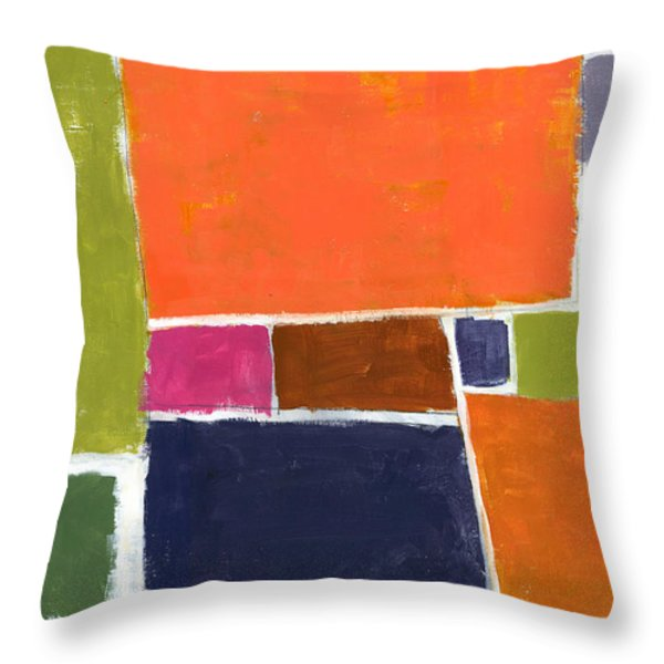 Compromisso Throw Pillow by Douglas Simonson