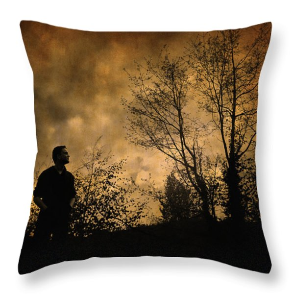 Conceiving You Throw Pillow by Taylan Soyturk