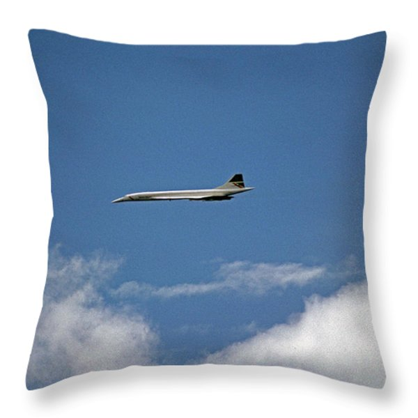Concord Throw Pillow by Skip Willits