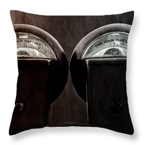 Conjoined twins Throw Pillow by Bob Orsillo