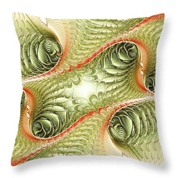 Conjugation Throw Pillow by Anastasiya Malakhova