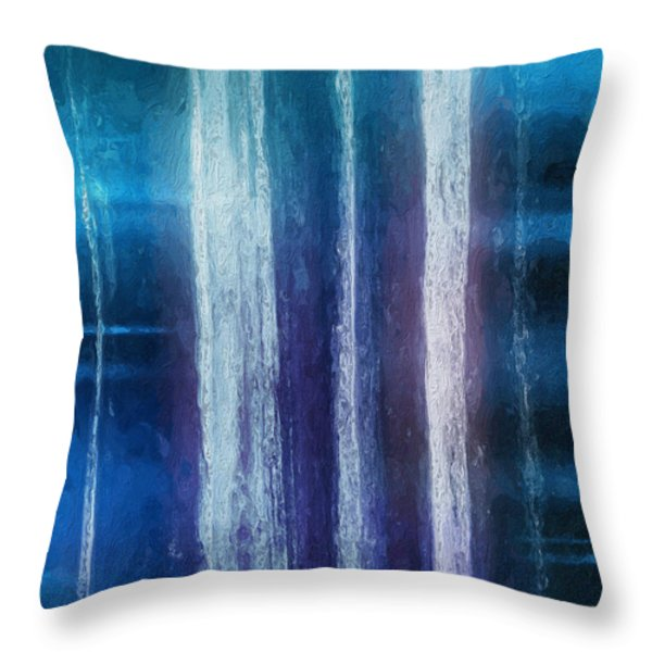 Connect Throw Pillow by Skip Hunt