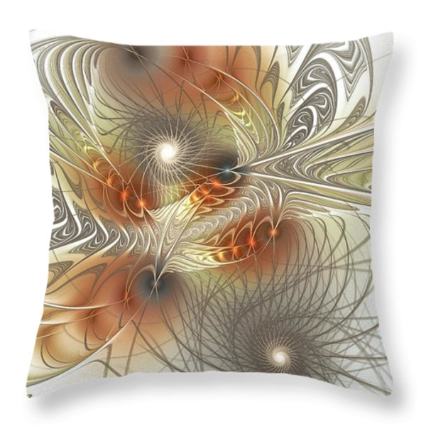 Connection Game Throw Pillow by Anastasiya Malakhova