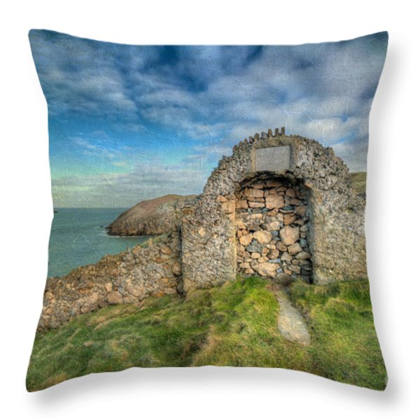 Consecrated 1535 Throw Pillow by Adrian Evans