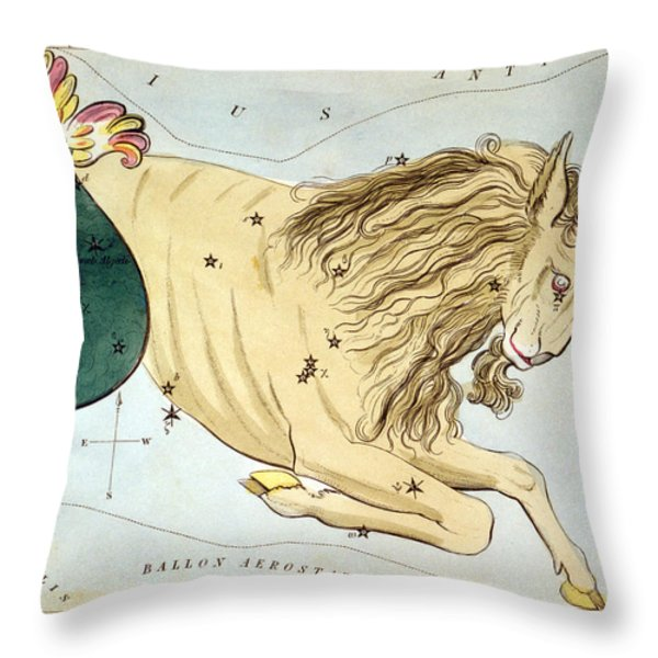 Constellation: Capricorn Throw Pillow by Granger