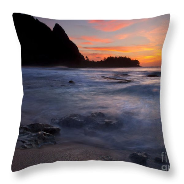 Consumed Throw Pillow by Mike  Dawson