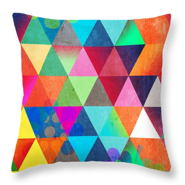 Contemporary 3 Throw Pillow by Mark Ashkenazi