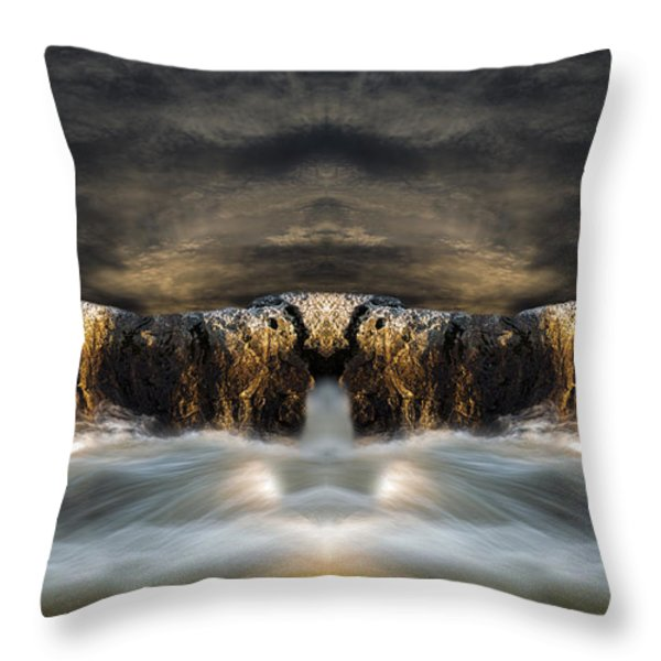 Convergence  Throw Pillow by Bob Orsillo