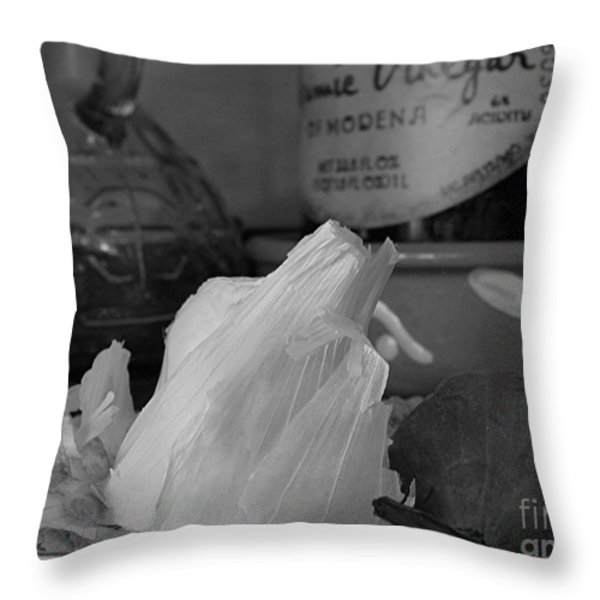 Cooking Throw Pillow by Juergen Roth
