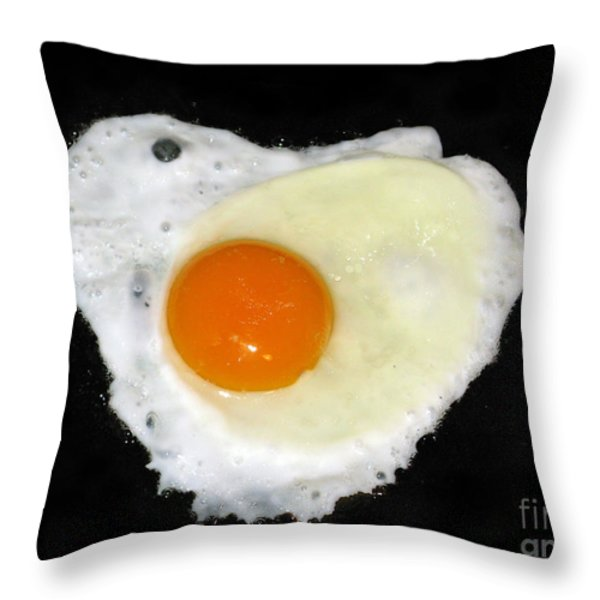 Cooking With Love Series. Breakfast For The Loved One Throw Pillow by Ausra Paulauskaite