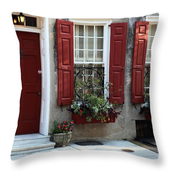 Coordinated In Charleston Throw Pillow by John Rizzuto