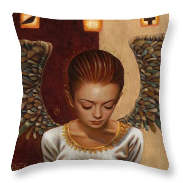 Coppertop Throw Pillow by Vic Lee