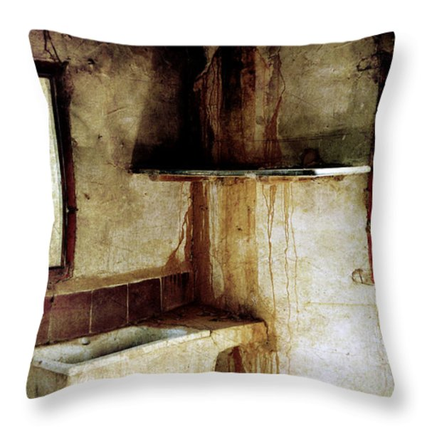 Corner Of Kitchen Throw Pillow by RicardMN Photography