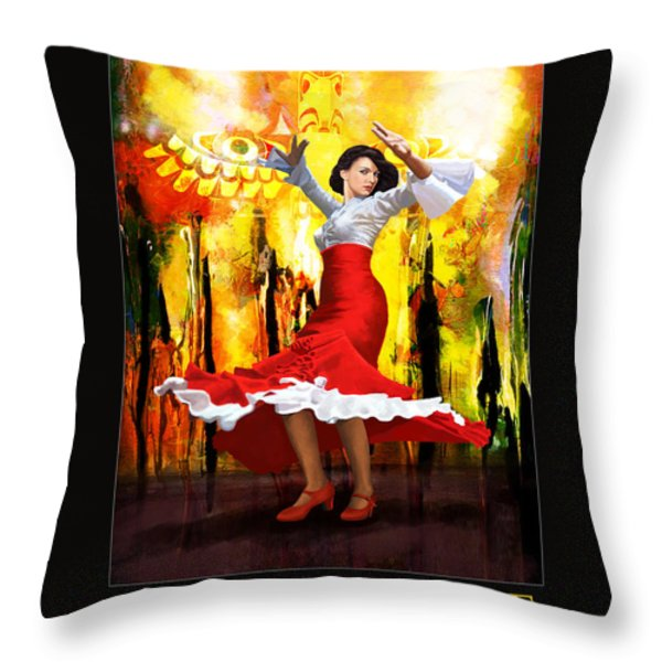 Corporate Art 003 Throw Pillow by Catf