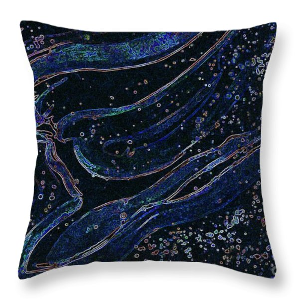 Cosmic Dancer by jrr Throw Pillow by First Star Art