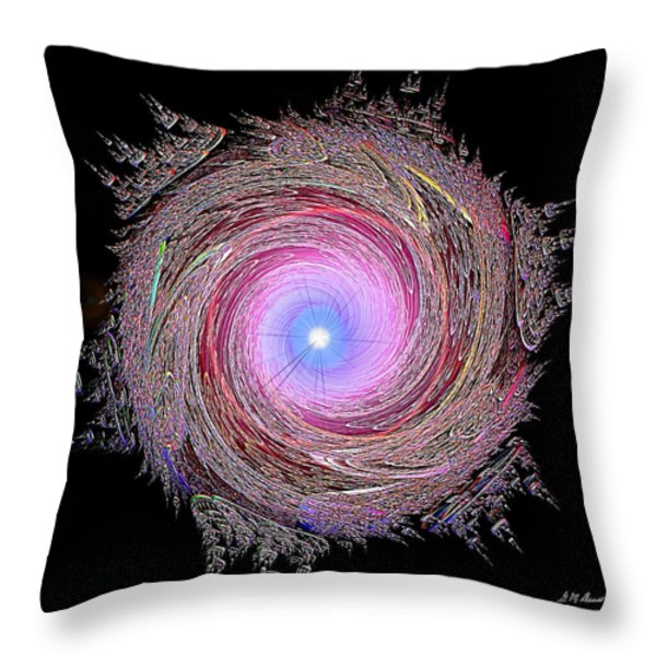 Cotton Candy Dream Throw Pillow by Michael Durst
